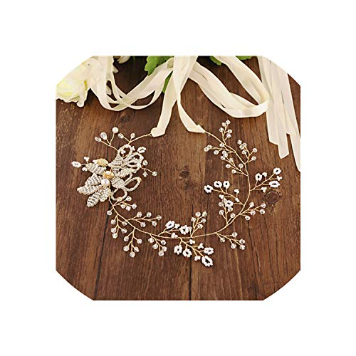 Vicky Fast Delivery Crystal Beaded Belts for Dresses Rose Gold Belt Flower Wedding Belt Wedding Bridal Belt Gold,Ivory Ribbon