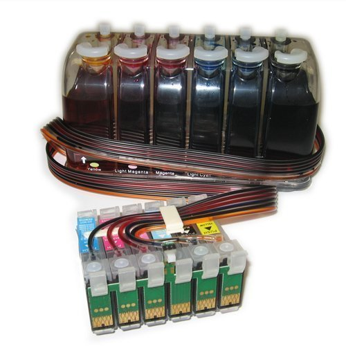 FantasyBuy Continuous Ink System For: Epson Stylus Photo 1400 , 1430 Printer