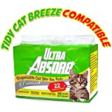 Ultra Absorb Tidy Cat Breeze Pad Compatible Premium Cat Pads Refills - BONUS 2 FREE Pads