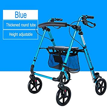 Andador de ruedas con asiento Marco para caminar Andador ...