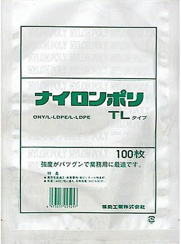 福助工業 ナイロンポリ TLタイプ規格袋 30-40 (200枚)巾300×長さ400mm