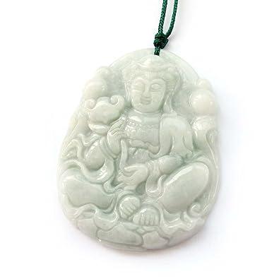 Amazon jadeite jade buddhist mercy kwan yin amulet pendant jewelry jadeite jade buddhist mercy kwan yin amulet pendant aloadofball Images