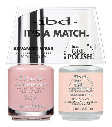 ibd Advanced Wear Color Duo Seashell Pink #477 UV Gel Color