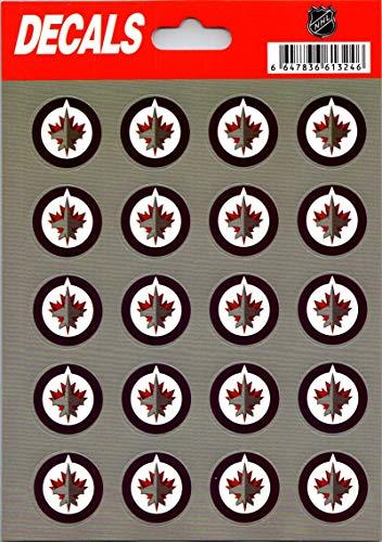 - Winnipeg Jets Vinyl Sticker Sheet 5