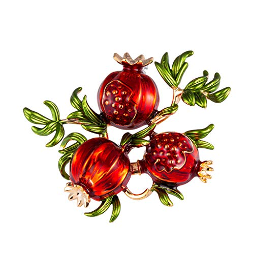 GoodLock(TM) Clearance Sale!!  Vintage Brooch for Women  Floral Silk Scarf Buckle Pin Dual-use Environmentally Friendly Alloy Jewelry Best Gifts Wholesale (B)
