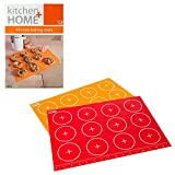 Kitchen + Home Silicone Baking Mats - Set of 2 Non-stick, BPA Free Food ...