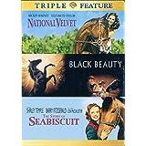 National Velvet/Story of Seabiscuit, The/Black Beauty (DVD) (3FE) (Multi-Title)
