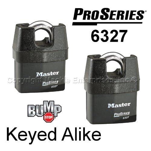 Master Padlock - High Security Locks #6327NKA-2 BUMP