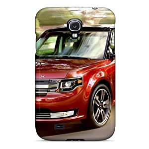 Awesome Case Cover/galaxy S4 Defender Case Cover(2013 Ford Flex Red)