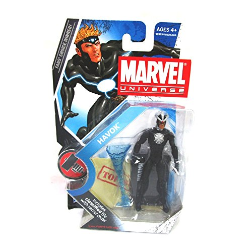3 3/4 Figures Accessories - Marvel Universe Series 2 Figure 018 Havok 3-3/4 Inch Scale Variant Action Figure by Hasbro