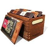 45 pcs Brown Mahogany Chocolate Box