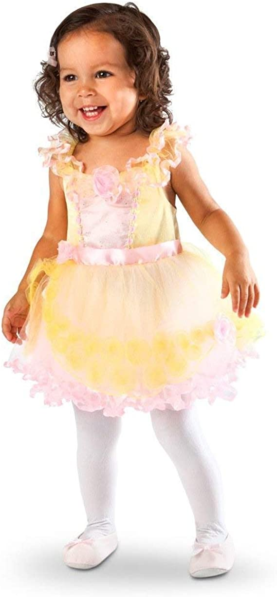 Disney Store Belle Deluxe Party Dress for Girls Beauty Beast Costume Pink Floral