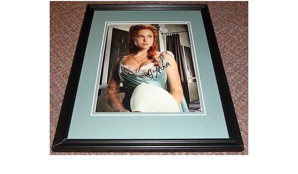 Anna Hutchison Signed Framed 8x10 Photo AW Spartacus Go Girls at ...