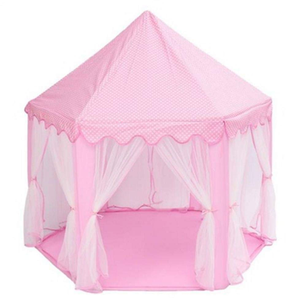 soarflight Kids Play Tents Preschool Outdoor Tents Princess Castle Play Tent Fairy Princess Large Portable Children Funny Play Fairy House with Light, Room Party Decoration