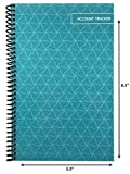 The Superior Check and Debit Card Register - Teal 5.5'' x 8.5''
