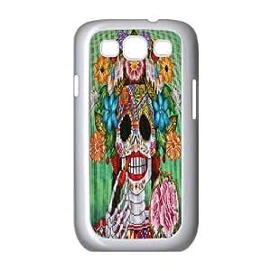 C-Y-F-CASE DIY Color Skull Pattern Phone Case For Samsung Galaxy S3 I9300 wangjiang maoyi