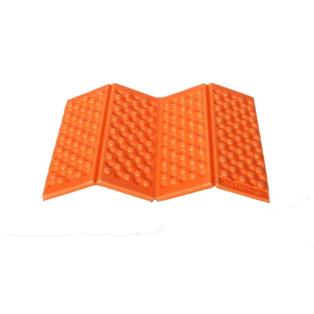 DZT1968 Moisture-proof Folding EVA Foam Pads Mat Cushion Seat Camping Park Picnic (Orange)