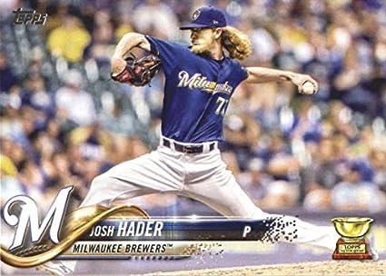 2716d6dcd 2018 Topps Series 2 357 Josh Hader Milwaukee Brewers Baseball Card -  GOTBASEBALLCARDS