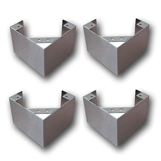 Furniture Legs 4 Piezas De Metal Muebles Patas Sofá Pies Mesa De ...