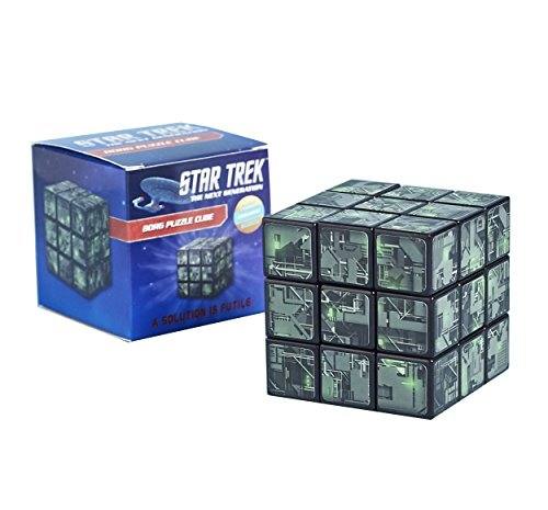 Star Trek: The Next Generation Borg Puzzle Cube - Sci Fi Nerd Block December 2016 (Star Borg Trek Cube)