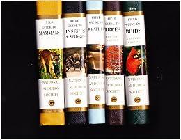 Five-Volume Set of Audubon Society Field Guides: