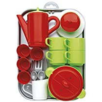 Ecoiffier 972 - Juego de té con accesorios de juguete