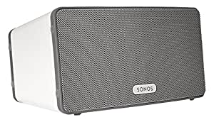 SONOS PLAY:3 Smart Speaker for Streaming Music (White) (Certified Refurbished)