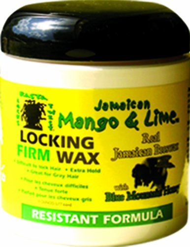 Jamaican Mango & Lime Resistant Formula Locking Firm Wax, 6 Ounce by Jamaican Mango & Lime