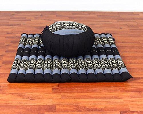 Leewadee Meditation Set: Zafu Cushion, Zabuton Mat, for sale  Delivered anywhere in USA