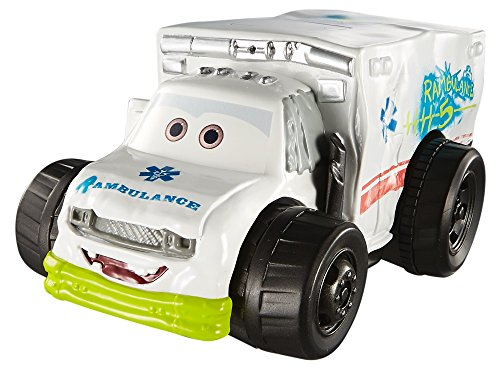 Disney Cars DXW12 Cars 3 Splash Racers Dr. Damage (Big Splash Water Park)