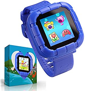 UKpingping Reloj Inteligente con Juegos, Smartwatch para niños, Niños niñas Relojes Inteligentes con cámara