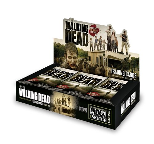 The Walking Dead TV SHOW Season 2 Cryptozoic Trading Cards Box [24 Packs] from Walking Dead