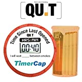 Stop Smoking Kit with Stopwatch Timer Cap to Avoid Smoking | Quit Smoking Patches to Stop Taking Cigarette | Easy Way to Quite Or Less Smoke | Size Standard