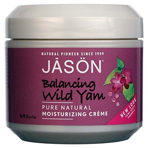 (JASON NATURAL PRODUCTS WOMEN WISE-WILD YAM MOIST, 4 OZ)