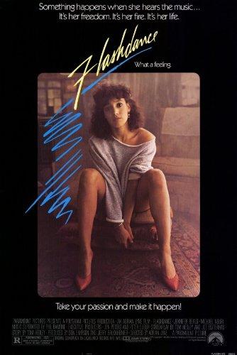 Flashdance 11x17 Movie Poster (1983) (Dance Movie Poster)