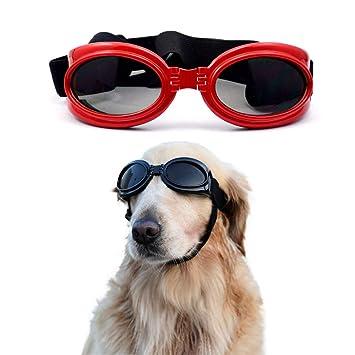 SelfLove Gafas de Sol para Perros Perro Gafas para Perros ...