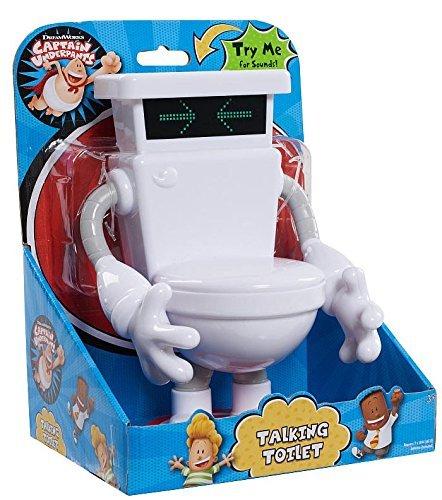 Captain Underpants Action Figure - Talking Toilet by Captain Underpants