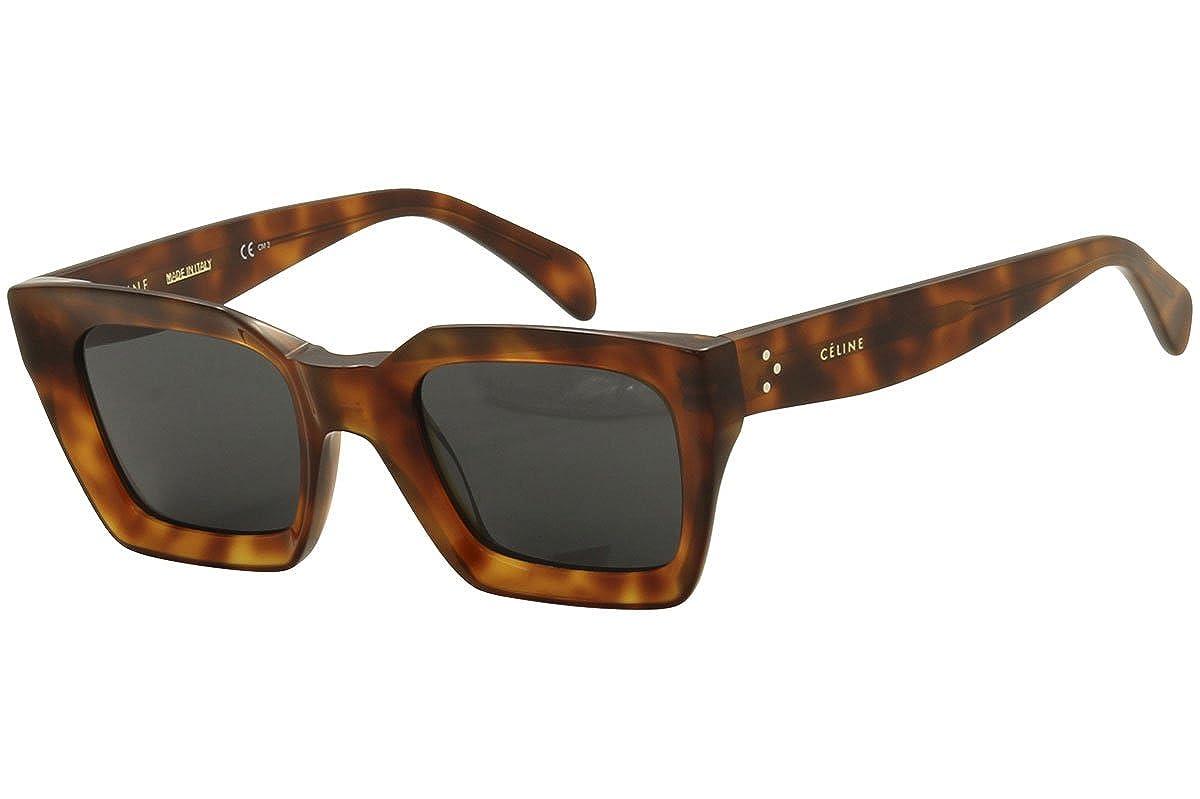 Amazon.com: Celine de plástico cuadrados anteojos de sol ...
