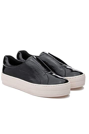 J Slides - Heidi Soft Patent Leather Shoe - Grey - 5.5 981045e681e5