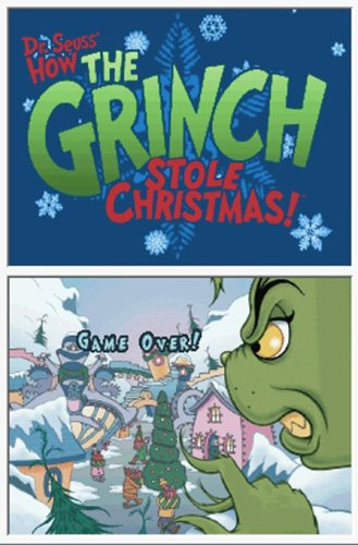 amazoncom dr seuss how the grinch stole christmas nintendo ds artist not provided video games - How The Grinch Stole Christmas Games