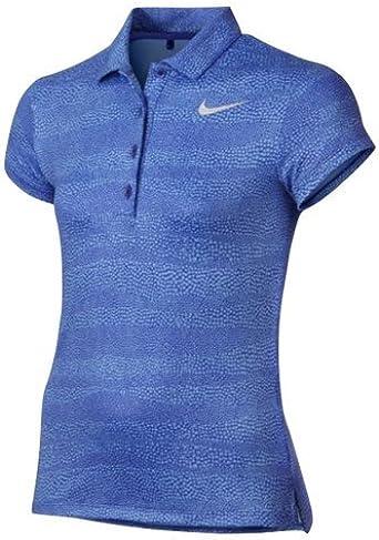 Nike 848603-452 Camiseta Polo de Manga Corta de Golf, Niñas ...