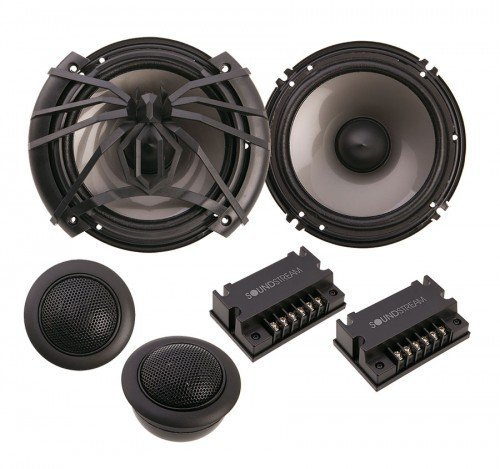 Soundstream AC.6 Arachnid Series 6.5″ Component Set; 100w, 4-ohm