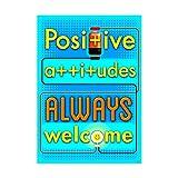 ARGUS Positive attitudes ALWAYS... ARGUS Poster, 13.375