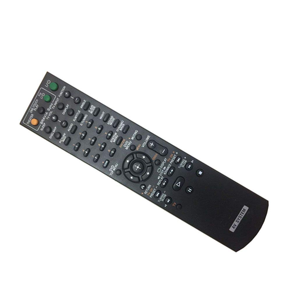 Easy Replacement Remote Control Suitable for Sony DAV-HDZ273 DAV-HDX277 DVD Home Theater System Receiver by EREMOTE