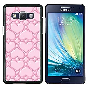 For Samsung Galaxy A5 A5000 Case , Pink Love- Diseño Patrón Teléfono Caso Cubierta Case Bumper Duro Protección Case Cover Funda