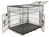 GoPetClub 3-Door Metal Pet Crate, 24-Inch Review