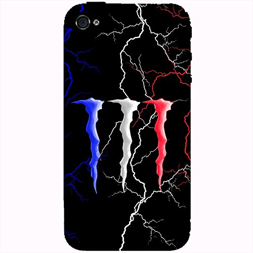 Coque Apple Iphone 4-4s - Monster orage France