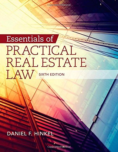 Download By Daniel F. Hinkel Essentials of Practical Real Estate Law (6th Sixth Edition) [Paperback] pdf epub