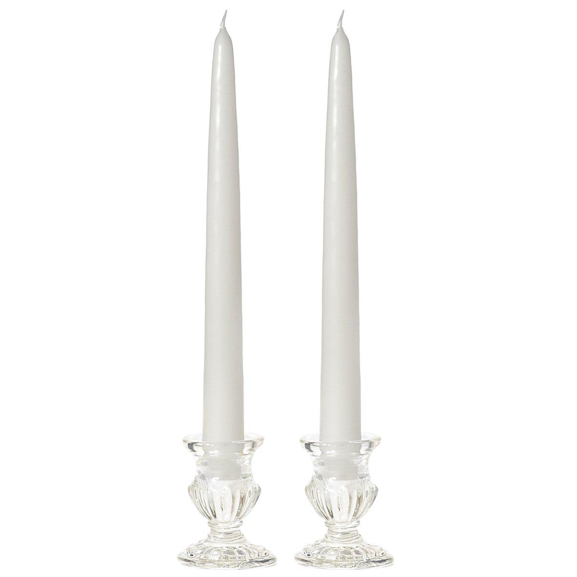 White Taper Candles 10 12 Pack Vot-062