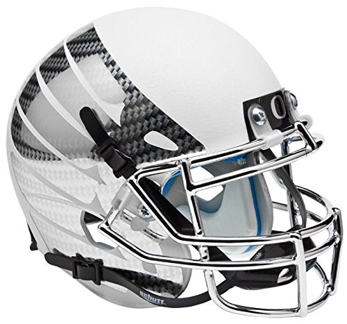 NCAA Oregon Ducks Wing Mini Helmet, One Size, White (Oregon Ducks Football Helmet)